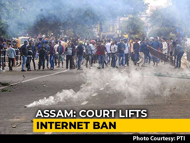 Video : Internet Restored In Assam After Over A Week Of Protests Against Citizenship Act