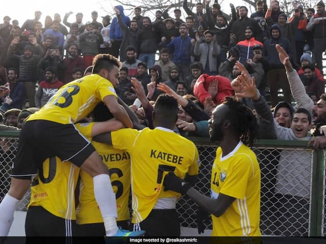 I-League: Real Kashmir Set To Host New Union Territorys First Big Sporting Event