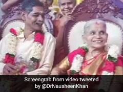 67 साल का दूल्हा, 65 साल की दुल्हन, वृद्ध आश्रम में दोनों ने की शादी, ट्विटर पर लोग दे रहे बधाई