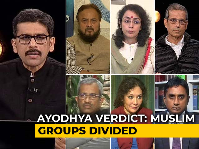 Video : Muslim Groups Divided Over Ayodhya Verdict: To Appeal Or Not Appeal