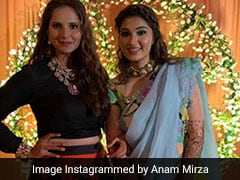 Sania Mirza's Sister, Anam, Dazzles Instagram With Pics From Her <i>Mehendi</i>