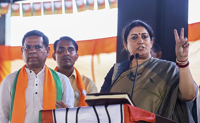 Parties Who Failed To Win 2019 Polls Supporting Shaheen Bagh Protests: Smriti Irani