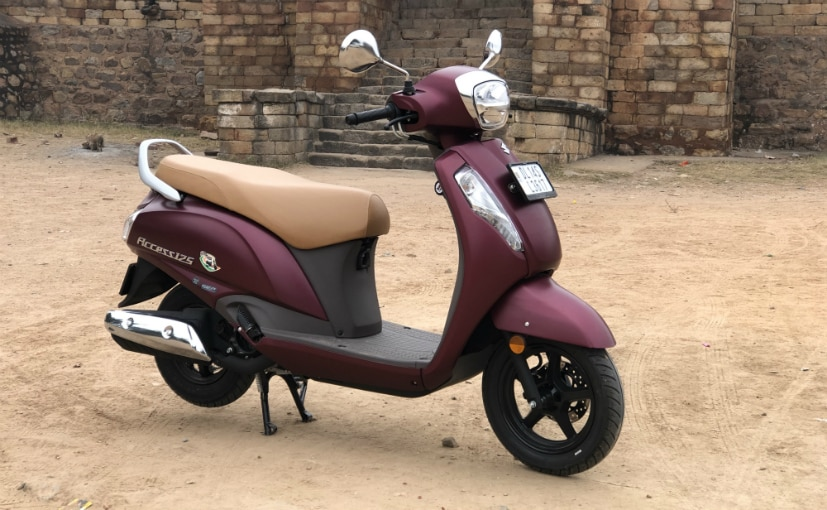 Updated 2020 Suzuki Access 125 meets the upcoming BS6 regulations, gets minor updates