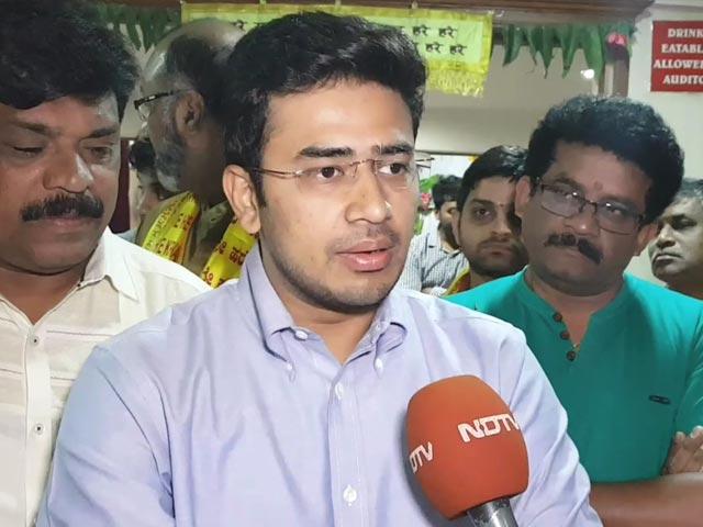 Video : Naveen Or Naushad, Life Is The Same: Tejasvi Surya To NDTV