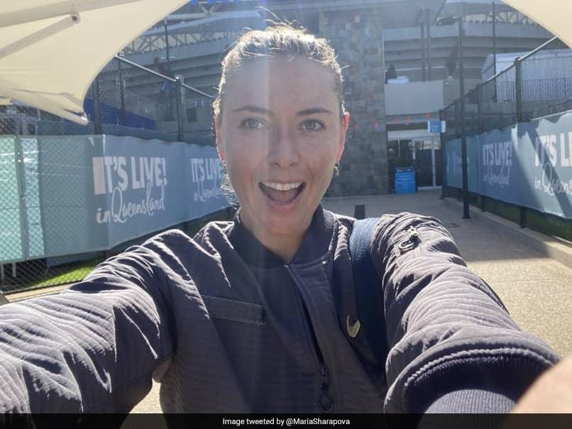 """Still A Lot Of Fire"": Maria Sharapova Accepts Brisbane International Wildcard"