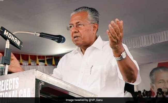 Pinarayi Vijayan Slams Congress For Leader Calling Minister 'COVID Rani'