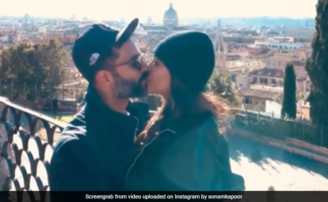 New Year's Eve: Sonam Kapoor And Anand Ahuja Seal The Decade With A Kiss