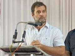 """Man Running This Country Believes In Violence"": Rahul Gandhi Attacks PM"