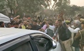Protests In Unnao Village As Ministers Visit Family Of Woman Set On Fire