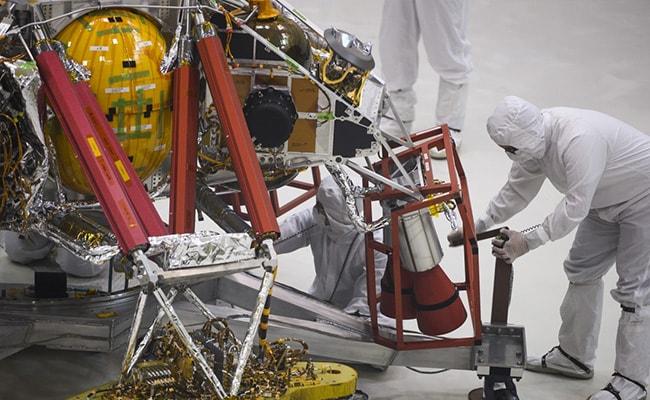 NASA's Trip To Mars Begins In California 'Clean Room'