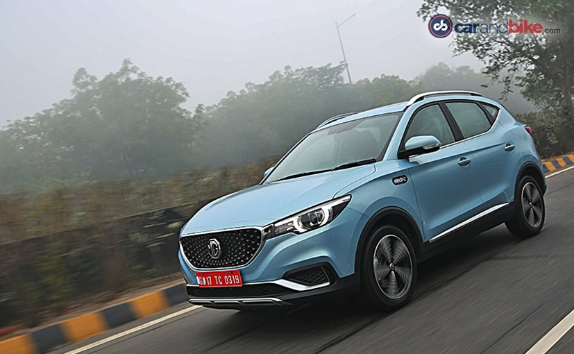 MG Motor will launch the ZS EV in India on January 27.