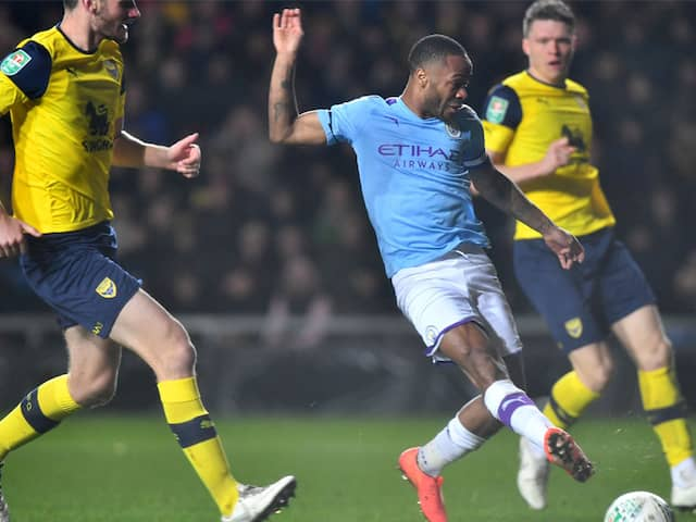 Manchester City To Face Manchester United In League Cup Semifinals