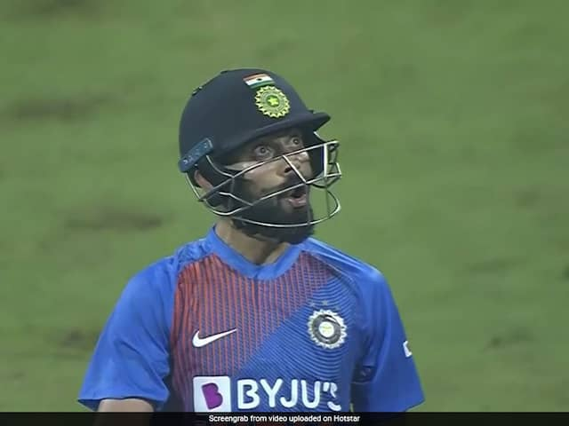 IND vs WI 3rd T20: Virat Kohlis epic reaction after smashing Kesrick Williams for a six, Watch