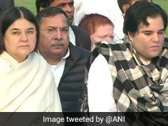 Sanjay Gandhi Birth Anniversary: Maneka, Varun Gandhi Pay Tribute In Delhi