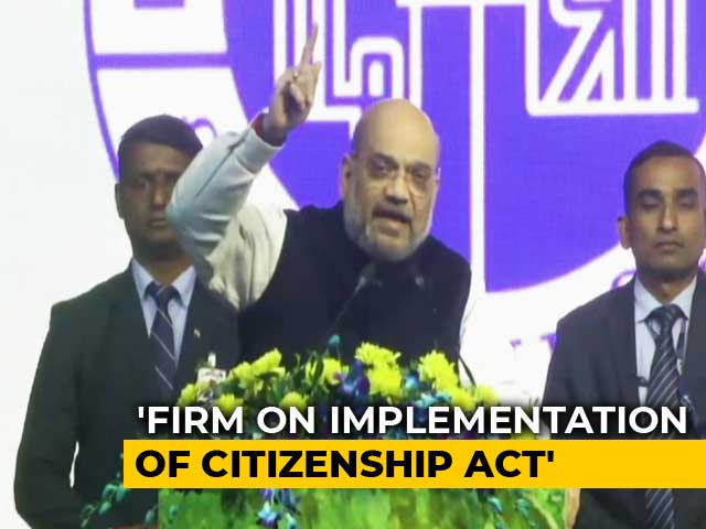 """Video : """"Come What May..."""": Amit Shah Refuses To Back Down On Citizenship Act"""