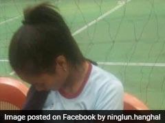 Mizoram Volleyball Player Breastfeeds Baby In Break. Twitter Goes Aww