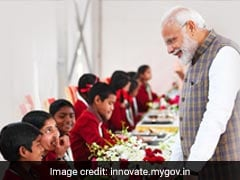 Centre's Education Schemes Helped In Promoting Holistic Development Of Children: PM Modi