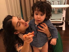 Sara Ali Khan Missed Taimur's Birthday Party. She Made Up For It Like This