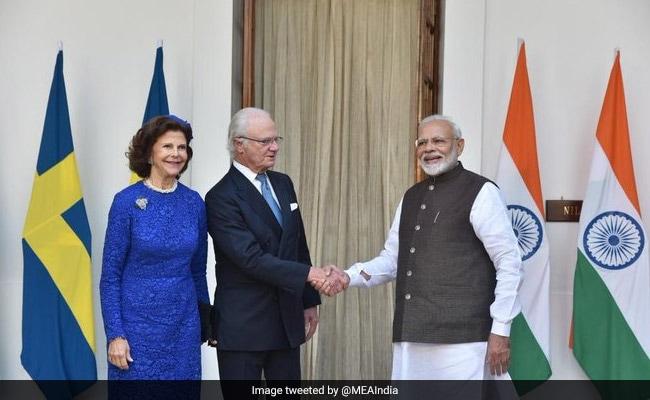 Swedish King, Queen Meet PM Modi, Discuss Ways To Deepen Ties