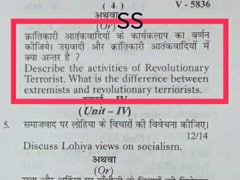 """Revolutionary Terrorists,"" Says Madhya Pradesh Paper, BJP Takes Offence"