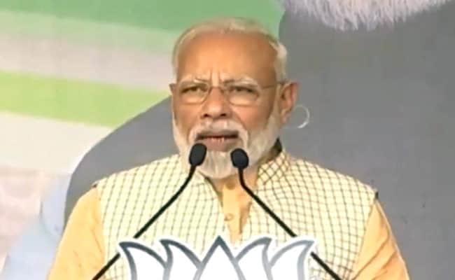 BJP Government Broke Backbone Of Naxalism: PM Modi in Jharkhand