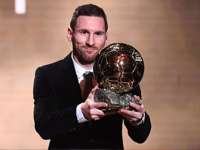 """Lionel Messi Says """"Retirement Is Approaching"""" After Winning Ballon dOr For Sixth Time"""