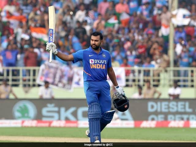 "Rohit Sharma ""Grateful"" After Ending 2019 As Leading ODI Run-Scorer"