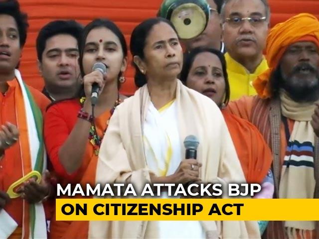 Video: 'UN Referendum On Citizenship Act If BJP Has Guts,' Mamata Banerjee Dares