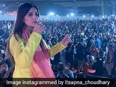 Sapna Choudhary ने स्टेज पर यूं मचाया धमाल, इस अंदाज में नजर आईं डांसिंग क्वीन- देखें Video