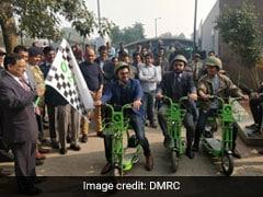 DMRC की शानदार पहल, दिल्ली के इन दो मेट्रो स्टेशनों पर किराये पर मिलेगी इलेक्ट्रिक साइकिल