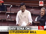 Video : Citizenship Bill Should Be Debated On Basis Of Humanity, Not Religion: Sanjay Raut