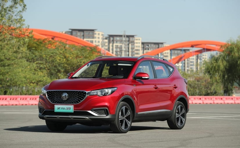 MG ZS EV will be launched in India on January 27.