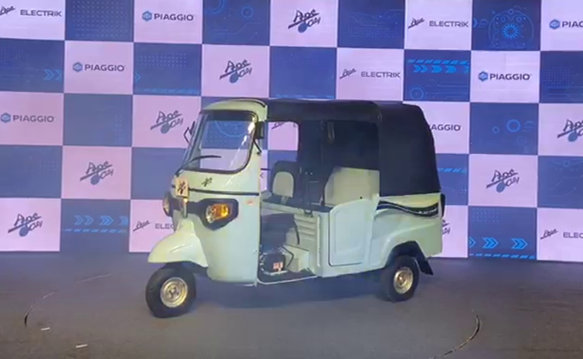 Piaggio Ape Electrik Electric 3-Wheeler Launched In India, Priced At Rs. 1.97 Lakh