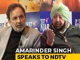 Video : Can Drugs Be Tackled In Punjab? Amarinder Singh Speaks To Prannoy Roy