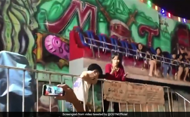 Terrifying Video Shows People Falling Off Carnival Ride In Thailand