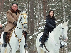 As Nuke Deadline Nears, Kim Jong Un Rides Horse Up Sacred Mountain Again