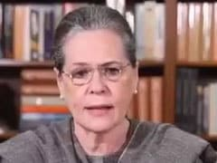 No Place In Country For Communal Ideology: Sonia Gandhi On Delhi Clashes