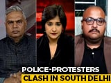 Video : Massive Police Crackdown After Protests In South Delhi: The New Normal?