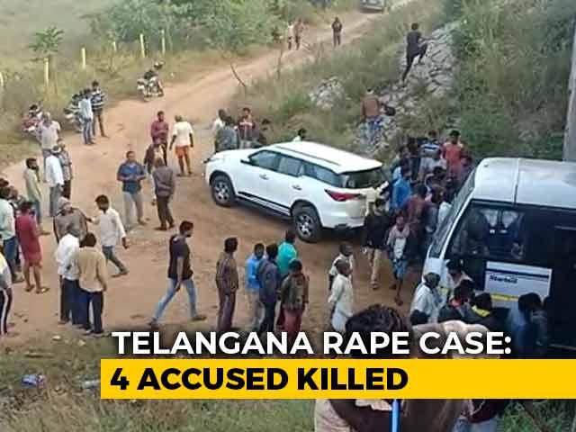 """Video : """"Been 7 Years, We Die Everyday"""": Nirbhaya's Parents Back Telangana Cops"""
