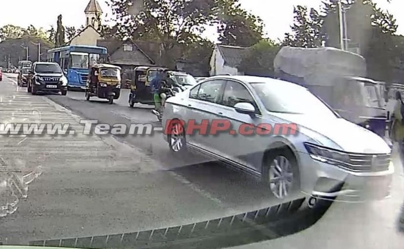 2020 Volkswagen Passat Facelift Spotted Testing In India