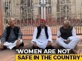Video : Akhilesh Yadav Sits On Protest Over Unnao Case, Targets UP Government