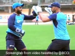 Watch: Rohit, Pant Take To Boxing To Prepare For 1st ODI vs West Indies