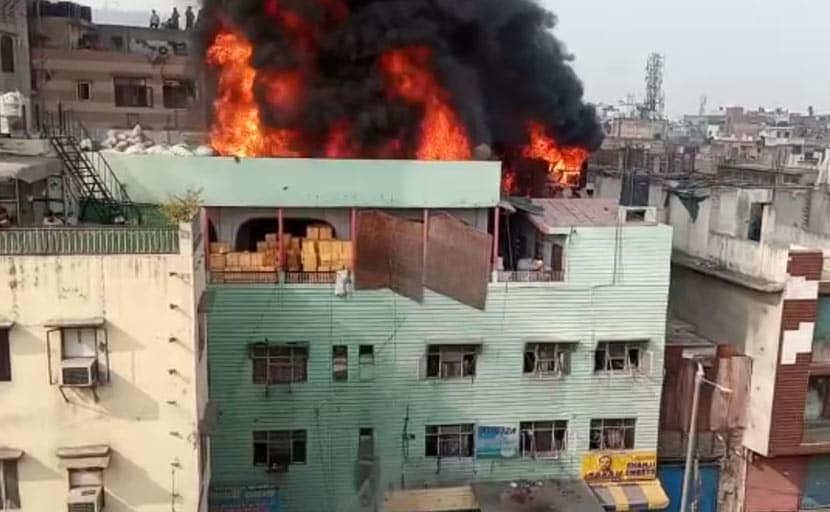 """Delhi Seeks Answers"": Union Minister After Factory Fire Kills 43"