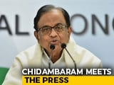 "Video : ""8, 7, 6.6, 5.8, 5, 4.5 = State Of Economy"": P Chidambaram"