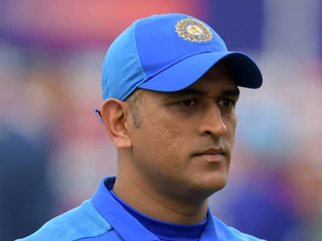 "Sourav Ganguly Says ""Please Ask MS Dhoni"" About Participation In T20 World Cup"