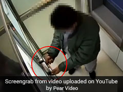 On Camera, ATM Robber Locks Door, Forgets How To Open It