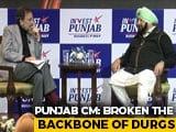 "Video : ""Broken The Backbone Of Drugs"": Punjab Chief Minister Tells Prannoy Roy"