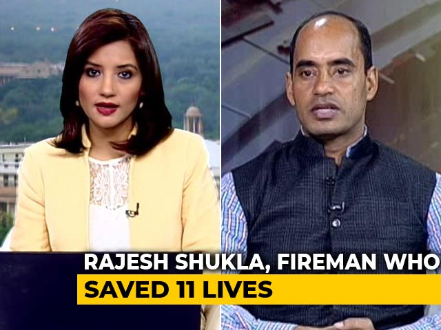 Video : Meet The Firefighter Who Saved 11 Lives In Delhi's Factory Fire