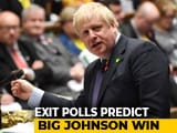 Video : Boris Johnson's Party Takes Big Lead, Corbyn Concedes Defeat In Polls