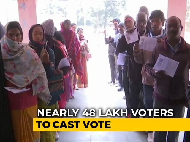 Video : Chief Minister Raghubar Das Among Key Candidates In Jharkhand Polls Today